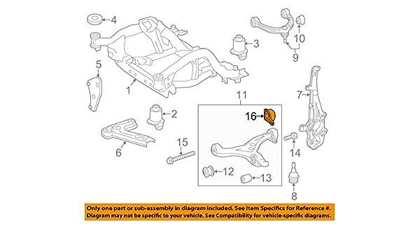 MERCEDES OEM 16-17 GLE350 Lower Control Arm-Front-Bracket 1663300243