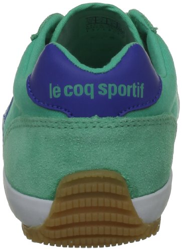Le Coq Sportif Avron - Zapatillas de tela unisex, color blanco, talla for men Verde (Vert (Mint Leaf/Olympian B))