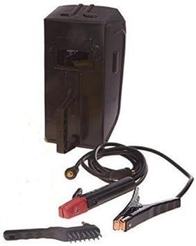 Stanley - 7000 - Equipo de soldadura inverter de 200 A con máscara y juego de electrodos magnéticos: Amazon.es: Bricolaje y herramientas