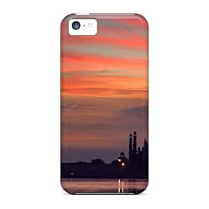 High Grade ConnieJCole Flexible Tpu Case For Iphone 5c - Taj Mahal