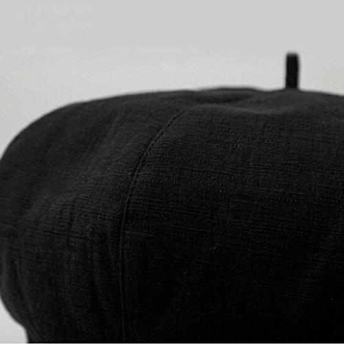informal hat Aj lino octogonal lady retro algod verano y gorra inglaterra primavera fznTzAdqa