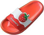 Toddler Girl's Sandals, Kids Baby Boys Girls children Cute Cartoon Indoors Slippers Beach Shoes San