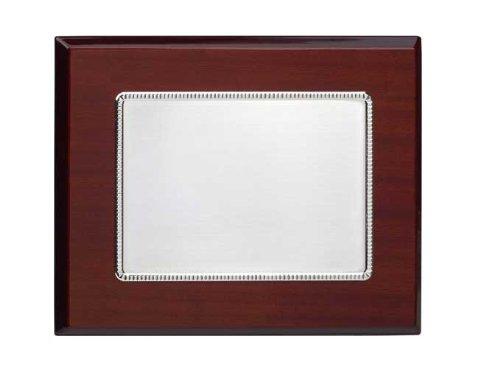Vinard PT316423S - Placa de orfebrería de alpaca matizada, tamaño 26 x 21 (cm) tamaño 26 x 21 (cm)
