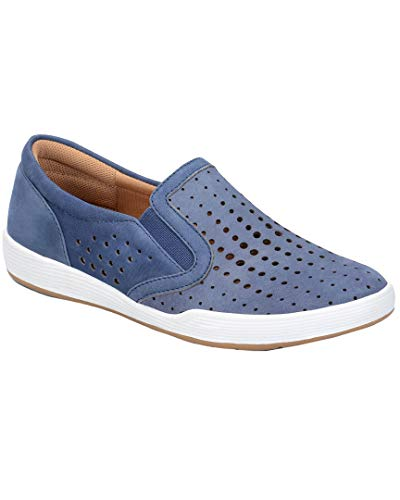 Comfortiva Women's, Lyra Slip on Shoes Denim 8.5 M