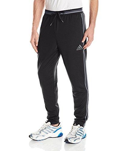 adidas Men's Condivo 16 Training Pants, Black/Vista Grey, Sm