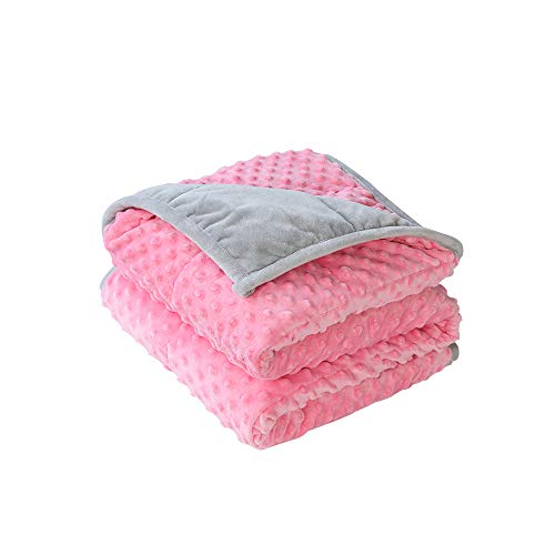 Cheap HUNON 5 Lbs Calming Weighted Blanket for Kids 36