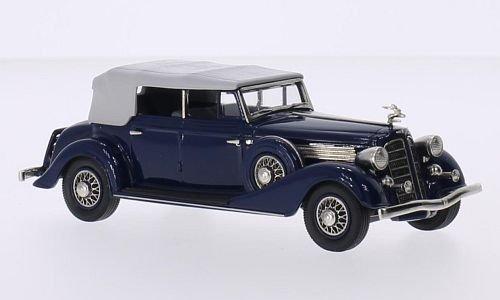 Buick Phaeton Model 98C, dunkelblau, 1934, Modellauto, Fertigmodell, Brooklin 1 43