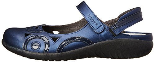 Womens Polar Leather Naot Sandals Sea Navy Rongo dITxvxS