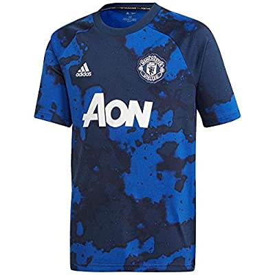 adidas Kid's Manchester United Prematch Jersey 2019-20