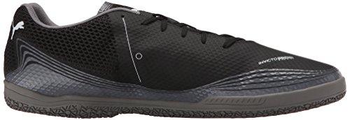 PUMA Men's Fresh Gray Sneaker Black Steel White Invicto rq64r