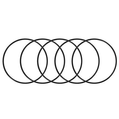 5 O-rings 142mm x 150mm x 4mm para bombas y filtros de agua