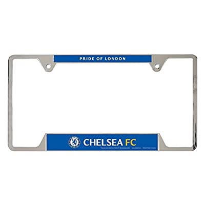 Int'l Soccer English Premiership Chelsea Metal License Plate Frame