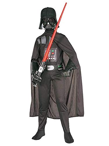 Rubie's Star Wars Child's Darth Vader Costume, Medium, Black, Medium -