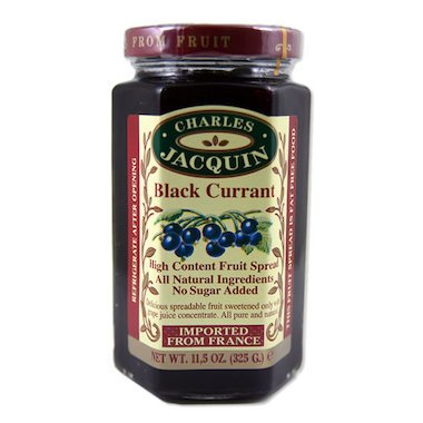 Charles Jacquin Fruit Spread 100% Fruit Imported from France (Black -
