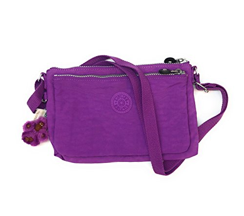 Kipling Mikaela Bag Dream Purple Crossbody fRrwf