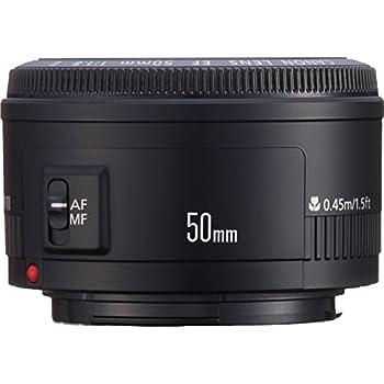 Canon EF 50mm f/1.8 II Standard AutoFocus Fixed Lens - International Version (No Warranty)