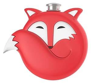 Fox Flask in Red by TrueZoo