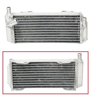 Outlaw Racing OR4499L Radiator Left Side-Dirt Motorcycle Suzuki RM125 ()