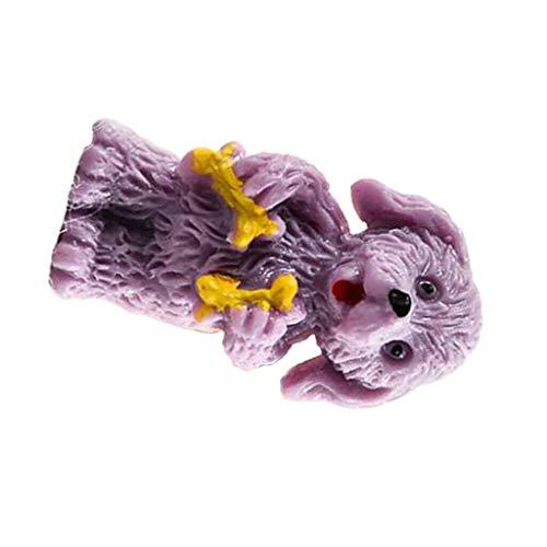 NATFUR 5X Miniature House Fairy Garden Home Decoration Pet Dog Animal Models