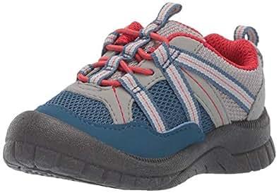 OshKosh B'Gosh Unisex-Child OS190009 Thiago Athletic Bumptoe Sneaker Blue Size: 4 M US Toddler