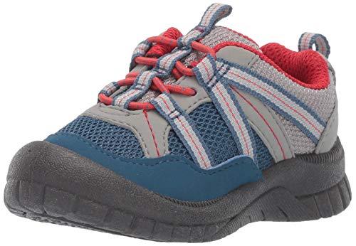 OshKosh B'Gosh Boy's Thiago  Athletic Bumptoe Sneaker, Navy, 8 M US Toddler