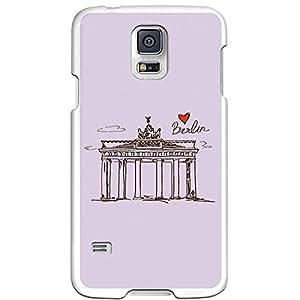 Funda Gel Samsung Galaxy S5 BeCool Dibujo Puerta de Brandenburgo