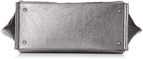 Desigual Majestic Cortland Shopping Bag Silver