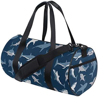 ボストンバッグ 鯨柄 サメ柄 ジムバッグ ガーメントバッグ メンズ 大容量 防水 バッグ ビジネス コンパクト スーツバッグ ダッフルバッグ 出張 旅行 キャリーオンバッグ 2WAY 男女兼用