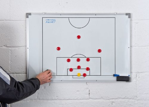 Precision Training Double-Sided Soccer Tactics Board 60X90Cm by Precision Training