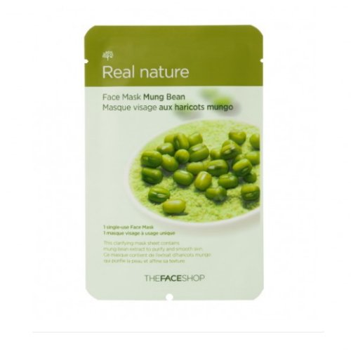 3-Pack-THE-FACE-SHOP-Real-Nature-Mask-Mung-Bean