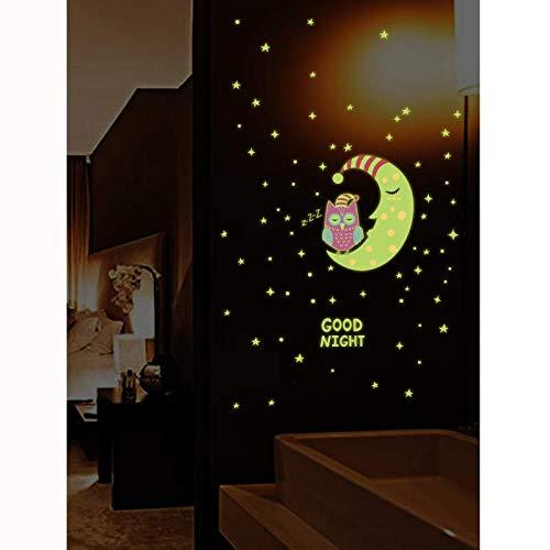 Glow In The Dark Wall Stickers Luminous Kids Room Art Decal Mural Fairy Girl