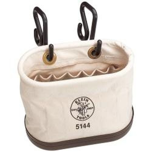 Aerial Oval Bucket 15 Pockets with Hooks Klein Tools 5144 by Klein Tools