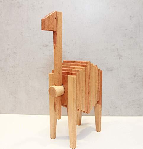 Emma Holz Spielzeug Giraffe Steckspielzeug Holzspielzeug Design