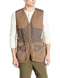 Browning Men\'s Summit Vest, Brown, Large