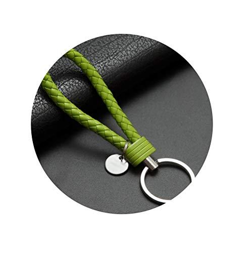 Key Ring Car Keychain Leather