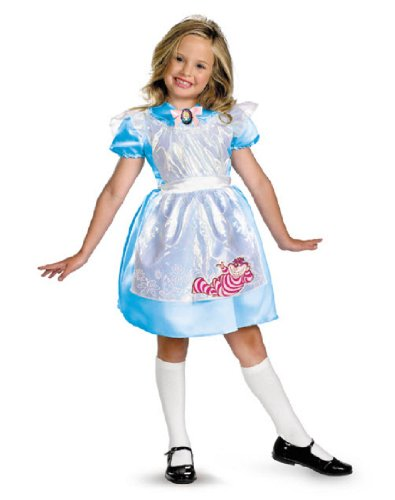 Alice Classic Child Costume,Toddler: 3T-4T (Toddler Alice In Wonderland Costume)