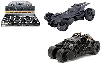 Jada Diecast Batman vs Superman Movie Version LIMITED CHASE Bare Metals Batman