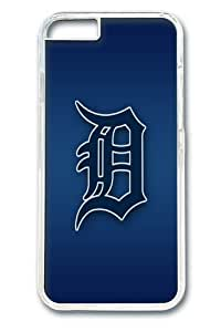 Detroit Tigers Custom iPhone 6 Plus 5.5 inch Case Cover Polycarbonate Transparent