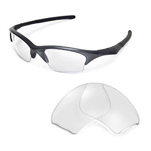 Walleva Replacement Lenses for Oakley Half Jacket XLJ Sunglasses-Multiple Options Available ()