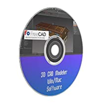 3D CAD Modeler Parametric Design Software Printing Windows Mac PC FREECAD