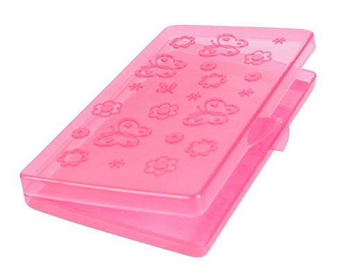 Bright Concepts Baby Wipes Travel Case - Pink Baby Wipe Case