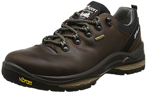 e762418e418 Grisport Waterproof & Breathable Unisex Walking Shoe Warrior. Made in Italy  46 Brown