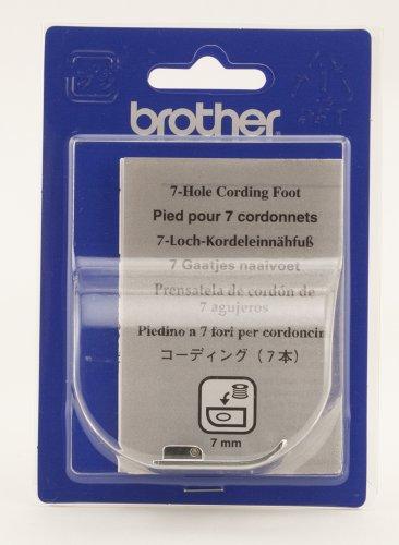 Brother SA158 7mm Cording Foot 7 hole