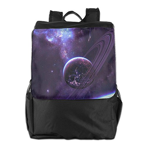 Shoulder Backpack Personalized Women Adjustable Dayback Camping Earth Men and Purple Storage Travel Strap School HSVCUY for Space Outdoors Efqvv
