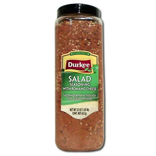 Durkee Salad Seasoning with Cheese - 23 oz. container, 6 per ()