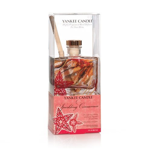 Yankee Candle Sparkling Cinnamon 3oz Signature Reed Diffuser