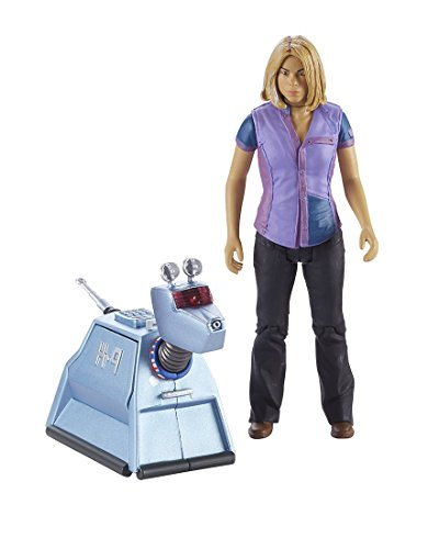 """Underground Toys Doctor Who 5.5"""" Rose & K9 Action Figure Set (2 Pack)"""