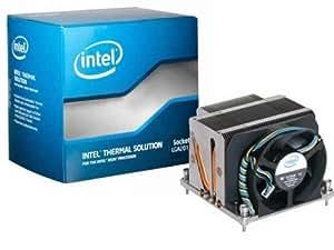 Intel BXSTS200C - Ventilador de PC (Enfriador, Procesador, Socket R (LGA 2011), Negro, Gris)