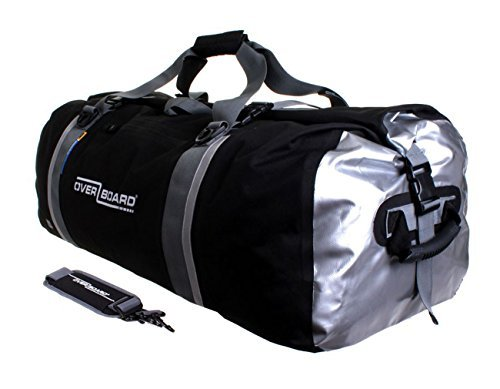 Overboard Classic Waterproof Duffel Bag - Black, 130 Litres by Overboard