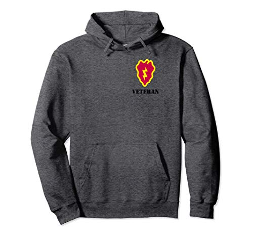 25th Infantry Division t Shirt -25th ID Shirt Veteran Hoodie